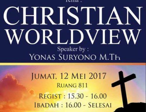 """Kebaktian Paskah dengan Tema """"Christian Worldview"""""""